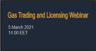 Gas trading and Licensing Webinar
